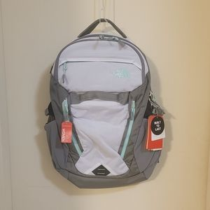 Women's North face backpack
